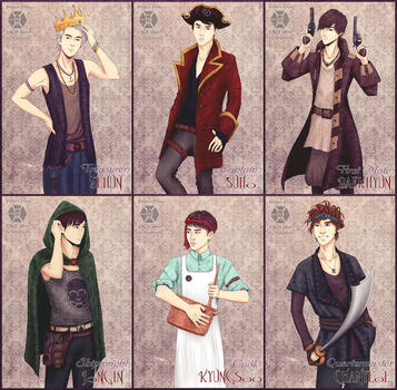 EXO-K - Pirates by AdamaSto