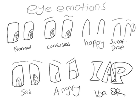 Eye emotions by IlyaRacer