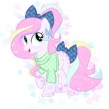 Cute Pony Adoptable .:Closed:. by Takan0