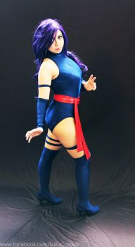 Psylocke Cosplay by AnnPoe