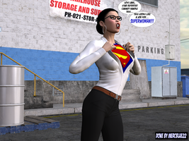 Lois Lane becomes SuperWoman TF 1b by mercblue22