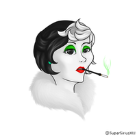 Daily Art - 101 - Cruella by SuperSiriusXIII