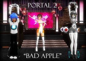 Portal2-Bad Apple- VIDEO LINK- by TehPuroisen