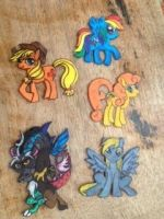Elements of Equestria MAGNETS by JuneBugValley