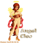 Comission eilatani - Angel Cleo by Eleanor-Devil
