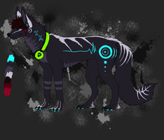 Design: Radiosaur by ZombieMutt13