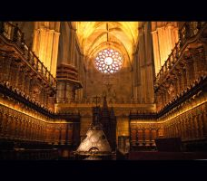 Cathedral of Seville by megaraliancourt