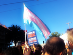 Trans March 2013: The Flag by Sunset-Trails