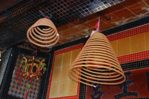 Holy mosquito coils by asiaseen