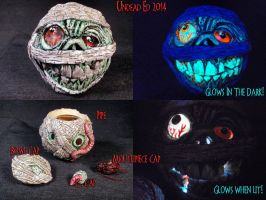 Madballs DustBrain Ball Pipe By Undead Ed 0 by Undead-Art