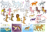 5 POINT LEFTOVER ADOPTS by Magicionary