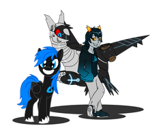 Request: Robot Dragons 'n' Ponies FTW by Blood-Asp0123