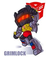 TF - Botcon Grimmy by plantman-exe