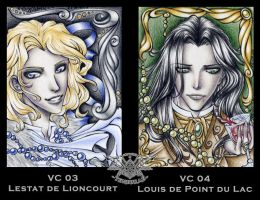 ATCs No. VC 03 and VC 04 by 1000Dreams