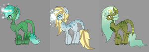 :Skyshire Auction:  Two Earth One Air (closed) by TheMoonlightExchange