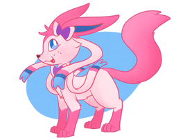 Sylveon by washumow