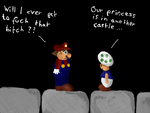 Super Mario is getting tired.. by erikhk