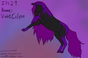 ID: 29 SCE Violet Eclipse by Wynter-Heart