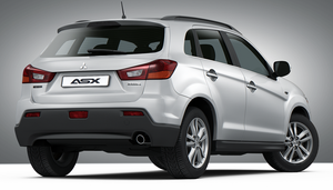 mitsubishi ASX by Mad-pencil