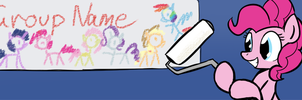 Pinkie Facebook Group banner. by Whatsapokemon