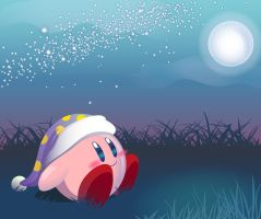 Good Night Kirby by couchmochi