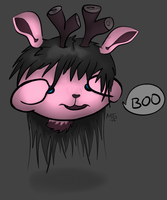 Boo Deer - Request by AliatHeavensbow