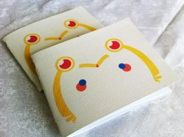 Blushing Sailor Moon Pocket Notebook by Shinjga