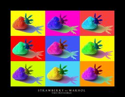 Strawberry vs Warhol by TheInvisible