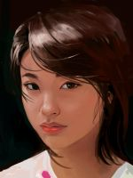 Study Asian chick by TheMichaelMacRae