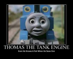 Thomas Fail Motive by MindlessGonzo