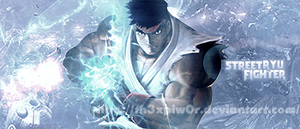 Street Fighter Ryu by th3xPiw0r