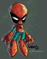 Lil' Spidey Colors by HueVille