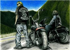 Sons of Anarchy by Zafe12