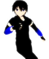 [MMD] D- WIP by khftw