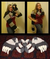 Claw scarf of NLT +3 win by Lenalis