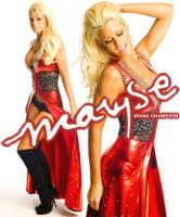 Maryse- Divas Champion by ratedrjulia