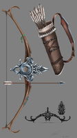Elf's Assassin Bow by arahnoid