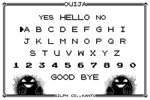 Pokemon Ouija by anienglish