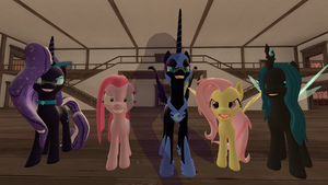 Happy Nightmare Night from MLP by Fullmoonrose7