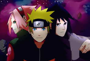 Formation: Team 7 by Kozakura-chan