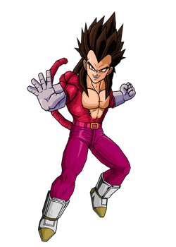 Vegeta SS4 Alternate by newman8tor