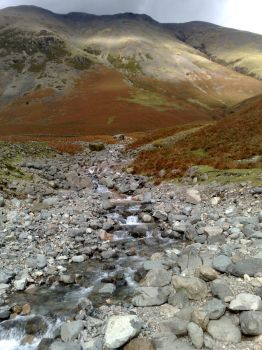 Lingmell Beck by PhotoMisfit
