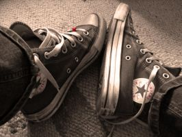 My Chucks by Tigerente-in-love