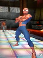 Spidey on the Dance Floor by stick-man-11