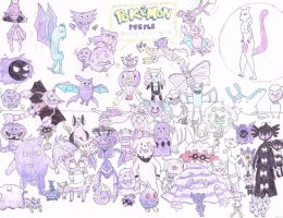 Pokemon Purple by Druddy