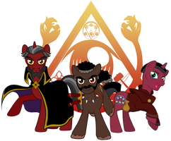 Mad Little Pony - Order of the Triad by ImmortalTanuki