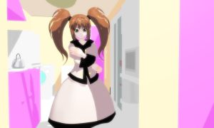 MMD dressed in winter Download by 9844