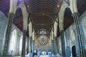 Winchester Castle Great Hall 1 by Okavanga