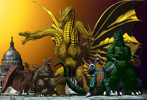 Monster Lineup: The Usual Suspects 2 by BLZofOZZ