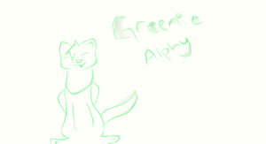 alphy is always green by Ruuza